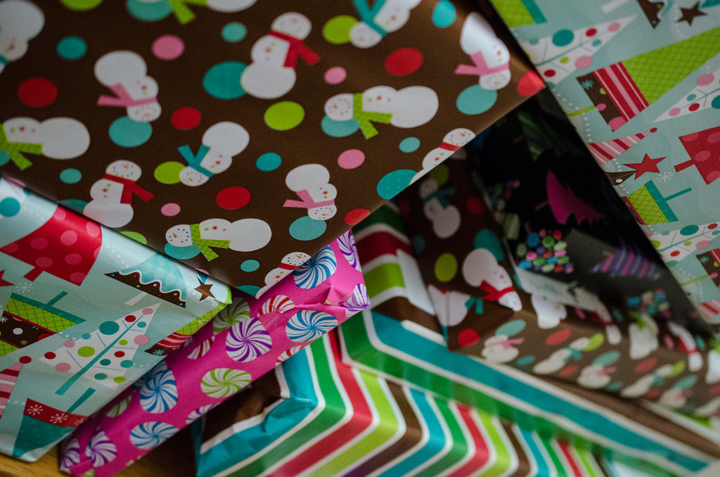 My presents don't usually look this pretty. Image courtesy of Flickr user M01229