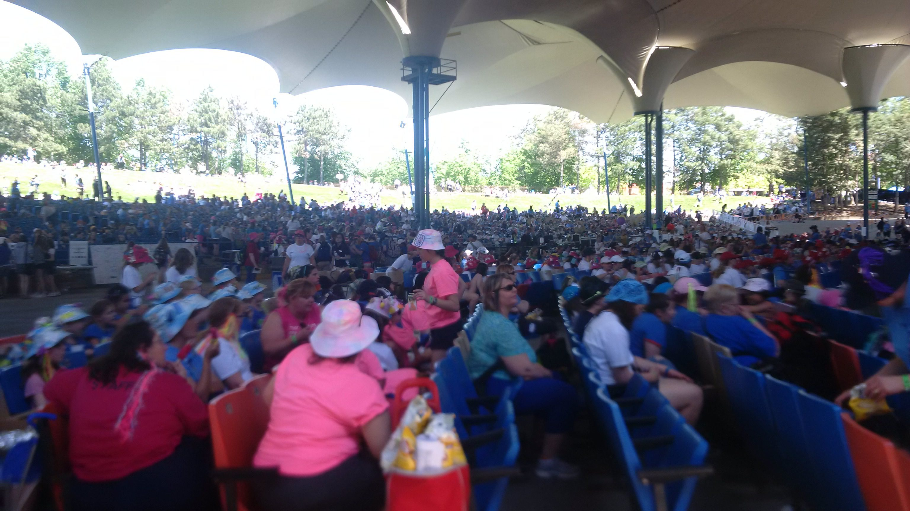 Rally Day for the 100th anniversary of Guiding in Canada